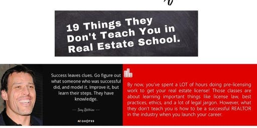 19 Things They Don't Teach In Real Estate School