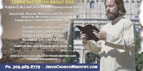 Une nuit de révélations bibliques billets