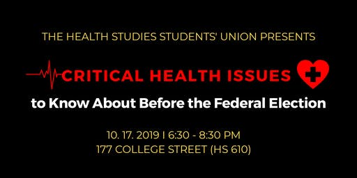 Critical Health Issues to Know About Before the Federal Election
