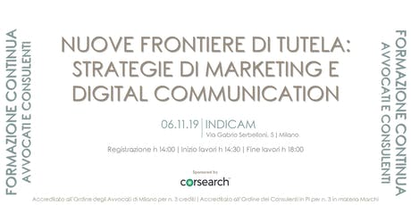 NUOVE FRONTIERE DI TUTELA: strategie di marketing e digital communication biglietti