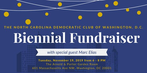 NC Democratic Club of DC Biennial Fundraiser