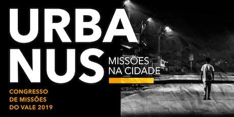 URBANUS: Missões na Cidade ingressos