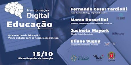 Transformação Digital na Educação - 2º encontro ingressos