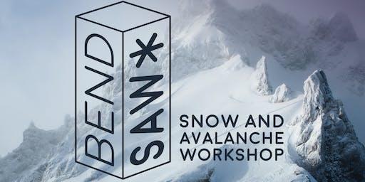 Bend Snow & Avalanche Workshop 2019