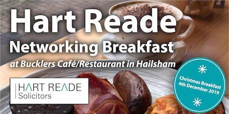 Hart Reade Hailsham Networking Breakfast - 4th December 2019 tickets