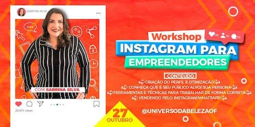 Workshop Instagram Para Empreendedores Por Sabrina Silva em Natal/Rn
