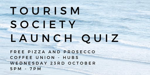 SHU Tourism Society Launch Event 2019
