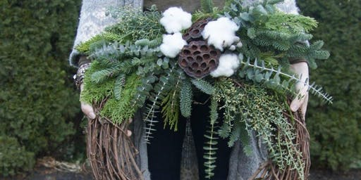 Create your Chalet Chic Wreath at Brissonte with Alice's Table