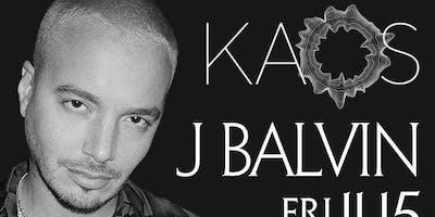 J BALVIN @ KAOS NIGHTCLUB @ PALMS HOTEL LAS VEGAS FRIDAY NOVEMBER 15TH