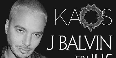 J BALVIN @ KAOS NIGHTCLUB FRIDAY NOVEMBER 15TH