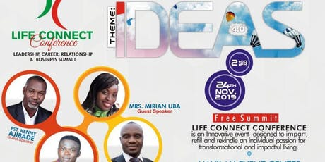 LIFE CONNECT CONFERENCE 2019 tickets