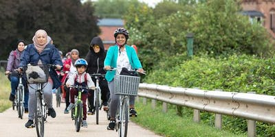 Women's only Bikeride from Leyton Jubilee Park to Walthamstow Wetlands