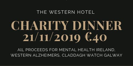Charity Dinner tickets