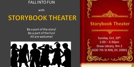 STORY BOOK THEATER! Fall into Fun! tickets
