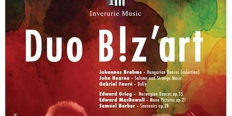 Duo B!z'art Piano Concert tickets