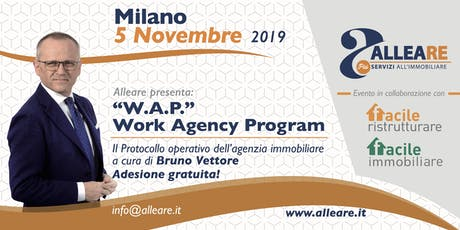 W.A.P. Work Agency Program biglietti