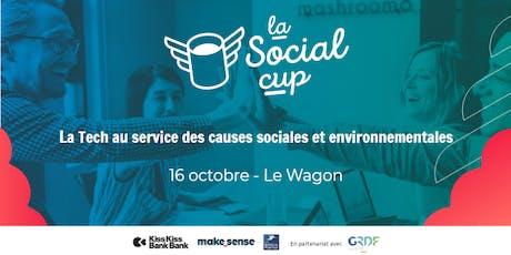 Présentation de la Tech for Good et l'Entrepreneuriat Social billets
