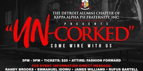 """Un-Corked"" tickets"