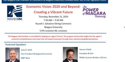 Economic Vision 2020 and Beyond: Creating a Vibrant Future