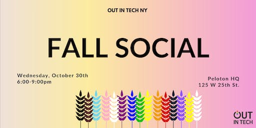 Out in Tech NY | Fall Social at Peloton