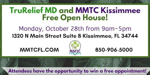 TruRelief MD and MMTC Kissimmee Open House!