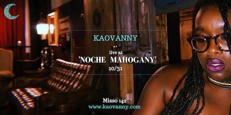 'Noche Mahogany' at Misso 142 tickets