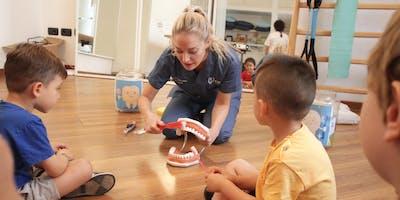 Corso igiene orale per bambini
