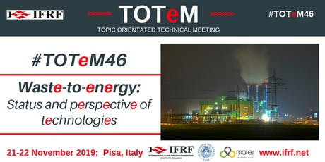 Waste-to-Energy: Status and perspectives of technologies biglietti