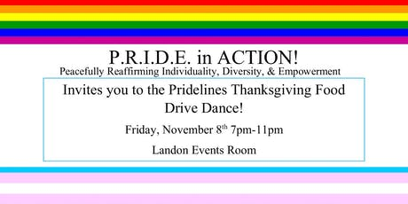 P.R.I.D.E in ACTION! Thanksgiving Dance tickets