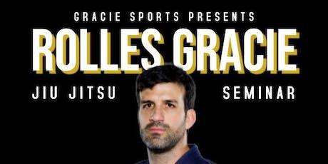 Rolles Gracie seminar tickets