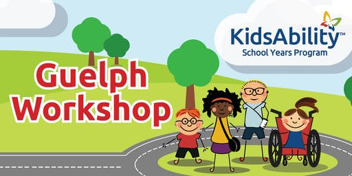KidsAbility School Years Workshop: Understanding the Sensory World Around You (USWAY)