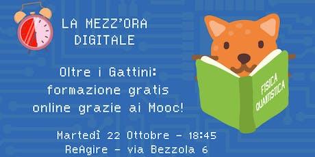 Oltre i gattini: formazione gratis online grazie ai Mooc! tickets