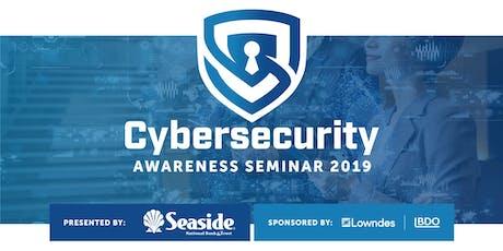 Seaside Cybersecurity Awareness Seminar 2019 tickets