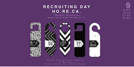 Recruiting Day HO.RE.CA biglietti