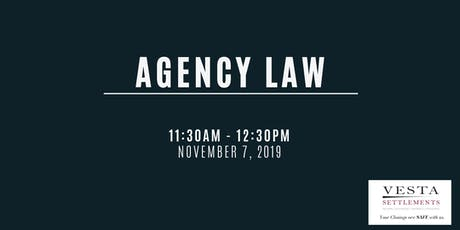 Agency Law tickets