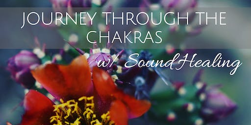 Journey Through The Chakras w/ Sound Healing