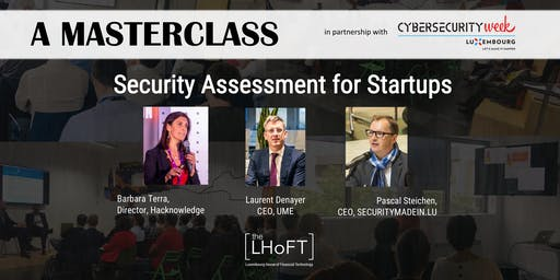 SECURITY ASSESSMENT FOR STARTUPS by Securitymadein.lu & Hacknowledge