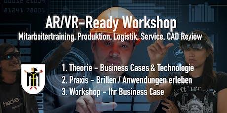 AR/VR - Ready Workshop für die Industrie. Edition München. 8.Nov. Tickets