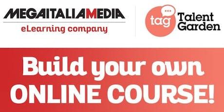 Build your online course biglietti