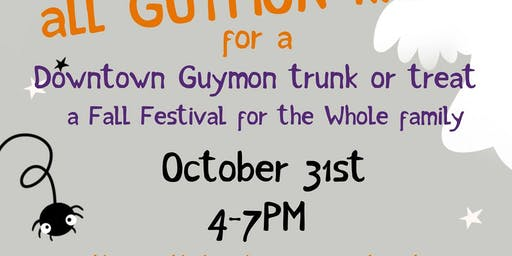 Downtown Guymon Trunk or Treat