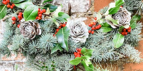 All-Natural 100% Locally Sourced Sustainable Eco Xmas Wreath Workshop tickets