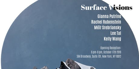 Surface Visions joint exhibition tickets
