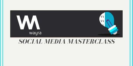 Wayra Tottenham - Social Media Masterclass tickets