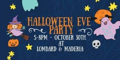 Halloween Eve Party