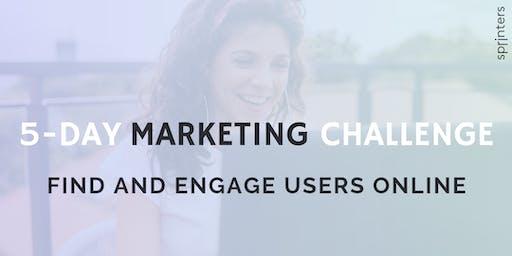 5-Day Marketing Challenge | Female Entrepreneurs