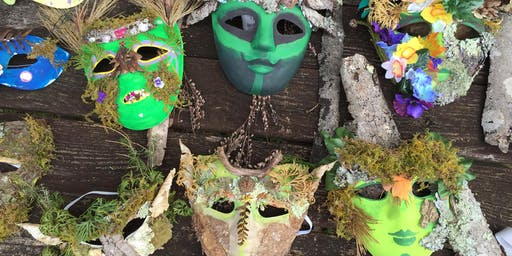 Pop-up Magical Masks from the Forest!