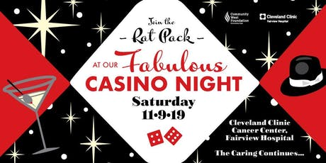 Casino Night- Benefit for Fairview Hospital Moll Cancer Center tickets