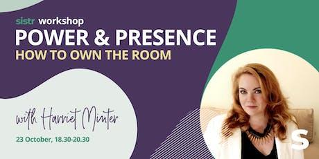 Sistr Workshop - Power & Presence with Harriet Minter tickets