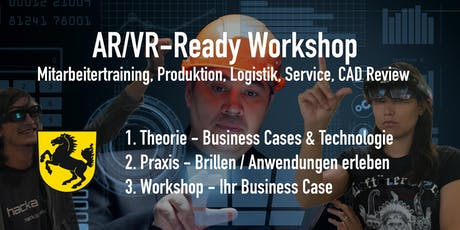AR/VR - Ready Workshop für die Industrie. Edition Stuttgart. 21.Nov. Tickets