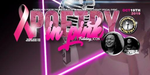PowerLines Poetry Presents: Poetry In Pink!